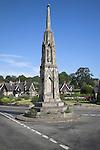 Ilam Cross, Ilam village, Peak District national park, Derbyshire, England
