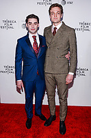 "NEW YORK CITY - APRIL 20: Alex Rich and Lucas Arthur Englander attends National Geographic's ""Genius: Picasso"" red carpet event at the Tribeca Film Festival at the BMCC Tribeca Performing Arts Center on April 20, 2018 in New York City. (Photo by Anthony Behar/National Geographic/PictureGroup)"