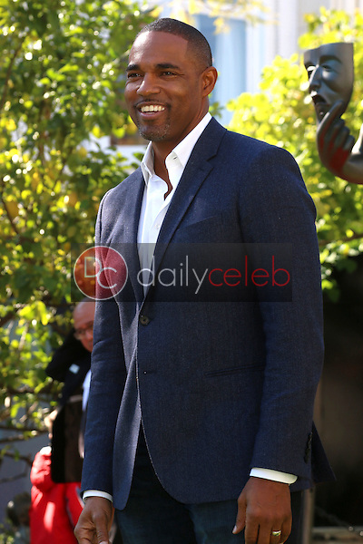 Jason George<br /> at the Greet the Actor Statue - SAG Event, The Grove, Los Angeles, CA 01-25-17<br /> David Edwards/DailyCeleb.com 818-249-4998