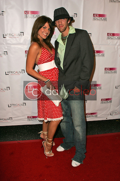 """Bridgetta Tomarchio and Nick Rumpf<br />at The AIDS Healthcare Foundation's """"Hot In Hollywood"""" Party. Music Box Theatre, Hollywood, CA. 08-12-06<br />Dave Edwards/DailyCeleb.com 818-249-4998"""
