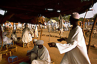 Darfur is the center of the Dinka slave trade.  Carried out by Baggara herders from SudanÕs drought-prone west.  Playing on Baggara-Dinka tensions over pastureland, the government arms Baggara horsemen to ride south with army resupply trains, raiding Dinka villages as they go..Story Summary:.Sudan, the largest country in Africa, hosts a civil war between the Islamic North and the African South that has the highest casualty rate of any war since World War II...Two and a half million people have been killed in this insidious conflict.  It drags on because Southerners have no voice, and the Northerners have engineered ÒThe Perfect WarÓ where none of their people are killed...The North forces people out of the South by bombing them, burning their crops, and harassing them with gunships. They abduct their children and draft them to fight with the Northern armyÑforcing southerners to fight their own brothers...This story is particularly interesting now because there is a small window for peace in a civil war that has been dragging on since the end of colonial rule.  The war has always been about tribal issues and ideologyÉ but more than that, it is about resources.  This clash over resources may bring peace.  The North controls the pipeline and the only port, and the South controls the land...The story of Sudan has always been the continual transference of wealth from the resources of the south to the elite few who live in the deserts of the north.  And the sucking sound in the middle of the country is from the corrupt government in northern Khartoum..
