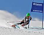 Skiers participate in the Colorado Surefoot Cup event on February 18, 2012, in Winter Park, Colorado
