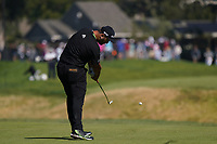 Jon Rahm (ESP) In action during the final round of the The Genesis Invitational, Riviera Country Club, Pacific Palisades, Los Angeles, USA. 15/02/2020<br /> Picture: Golffile | Phil Inglis<br /> <br /> <br /> All photo usage must carry mandatory copyright credit (© Golffile | Phil Inglis)