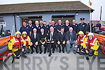 : CREW: Banna Sea rescue crew who celebrated the 30th Anniversary of the Banna Sea Rescue and the opening of the new building. Martin Woulfe, Colleen Trant, James O'Loughlin, John Draper (special guest), Steve Baker (Chairman), John Leach (Irish Water Safety), Mike McCarthy, Mike McCarthy (jnr) and Thomas Fitzgerald. Back l-r: Tommy Long, Thomas Fitzgerald (snr), Donal Dowling,Mike Shanahan, Brendan McDaid, Brendan O'Connor, (Irish Water Safety), Aiden Duggan, Neial Bodenham, PJ O'Riordan, Pat Ryle and Inspector Donal Ashe.