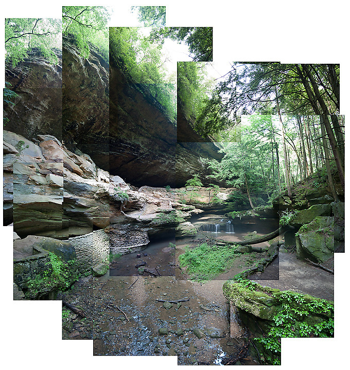 Old Man's Cave, located in Hocking Hills State Park, in southern Ohio.