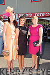 Ladies Day Listowel Races : Pictured at Ladies Day in Listowel ofn Friday last were Noreen Mangan, Killarney,  Janet Moriarity, Killarney  & Catriona Fleming, Milltown.