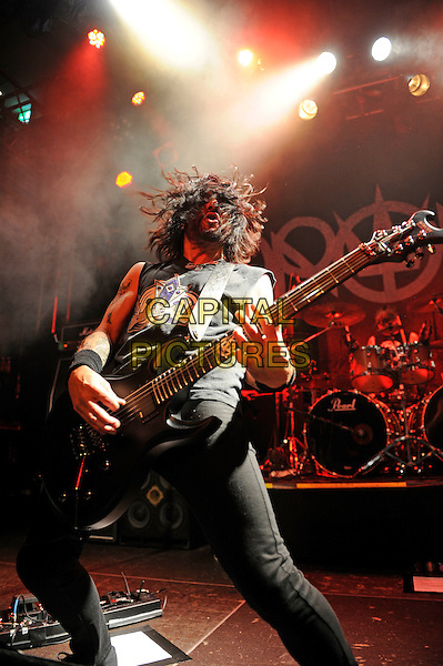 LONDON, ENGLAND - APRIL 23: Tommy Victor of 'Prong' performing at Islington Academy on April 23, 2015 in London, England.<br /> CAP/MAR<br /> &copy; Martin Harris/Capital Pictures