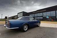 Pictured: The 1960 Aston Martin Volante, owned by Prince Charles, outside the factory. Friday 21 February 2020<br /> Re: HRH Prince Charles visits the Aston Martin Lagonda factory in St Athan, south Wales, UK.