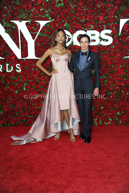www.acepixs.com<br /> June 12, 2016  New York City<br /> <br /> Jourdan Dunn and Zac Posen attending the 70th Annual Tony Awards at The Beacon Theatre on June 12, 2016 in New York City.<br /> <br /> Credit: Kristin Callahan/ACE Pictures<br /> <br /> <br /> Tel: 646 769 0430<br /> Email: info@acepixs.com