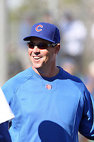 Greg Maddux. Chicago Cubs spring training workouts at Fitch Park, Mesa, AZ - 03/01/2010. Maddux is a special assistant to the president for the Cubs since retiring from a career as a pitcher..Photo by:  Bill Mitchell/Four Seam Images.