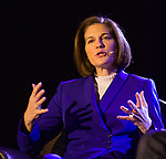 Catherine Cortez Masto during an interview in the Ted X event on Saturday, Jan. 27, 2018 at the Reno-Sparks Convention Center in Reno.