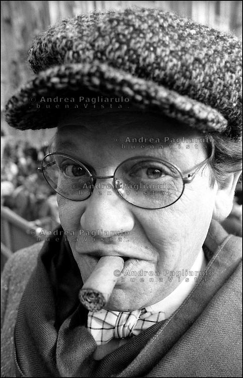 Philippe Daverio.© Andrea Pagliarulo/BuenaVistaphoto