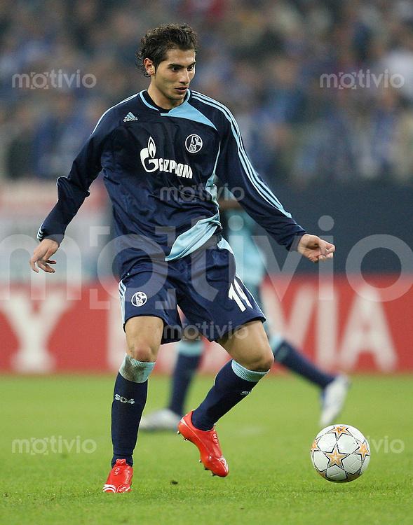 Fussball Champions League Saison 2007/2008 Halil ALTINTOP (FC Schalke 04)