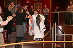 Katrina Yaukey during the Broadway Opening Night Actors' Equity Gypsy Robe Ceremony honoring Katrina Yaukey  for  'Natasha, Pierre & The Great Comet Of 1812' at The Imperial Theatre on November 14, 2016 in New York City.