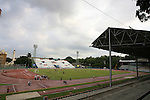 05 September 2008: A wide shot of the stadium during practice. The United States Men's National Team held a training session at Estadio Nacional de Futbol Pedro Marrero in Havana, Cuba in preparation for their 2010 FIFA World Cup Qualifier against Cuba the next day.