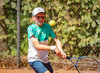 Hilversum, Netherlands, August 6, 2018, National Junior Championships, NJK, Abel Forger (NED)<br /> Photo: Tennisimages/Henk Koster