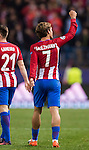 Antoine Griezmann of Atletico de Madrid celebrates after scoring during their 2016-17 UEFA Champions League match between Atletico Madrid and FC Rostov at the Vicente Calderon Stadium on 01 November 2016 in Madrid, Spain. Photo by Diego Gonzalez Souto / Power Sport Images