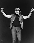 AC/DC 1983 Brian Johnson.© Chris Walter.