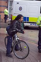 Rasta Passing by Right To Work Demo Birmingham Oct 2010