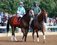 October 06, 2018 : #7 Golden Mischief and Florent Geroux in the 38th running of the Thoroughbred Club of America (Grade 2) $250,000 at Keeneland Race Course on October 06, 2018 in Lexington, KY.  Candice Chavez/ESW/CSM