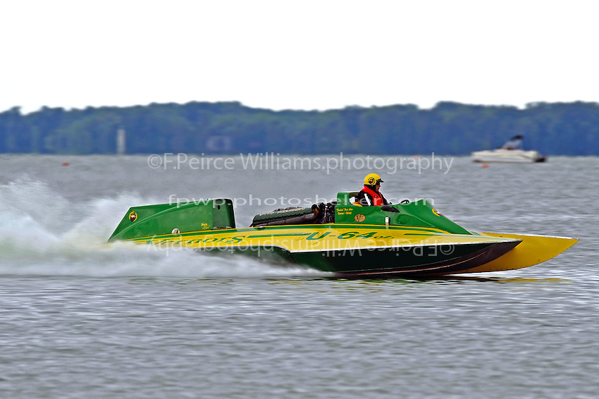 "Fred Alter, U-64 ""Miss Vernors"" Cabover Unlimited Hydroplane"