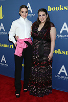 LOS ANGELES, CA - MAY 13: Kaitlyn Dever, Beanie Feldstein at the Special Screening of Booksmart at the Theater at the Ace Hotel in Los Angeles, California on May 13, 2019.  <br /> CAP/MPI/DE<br /> &copy;DE//MPI/Capital Pictures