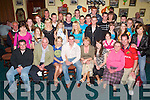 3534  3538. .KEY OF THE DOOR: Enjoying the night at his 21st birthday in Na Gaeil GAA Club, Tralee, on Saturday was David Culloty of Ballybeggan (seated centre), along with family and friends..0667121291