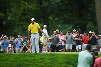 Tiger Woods (USA) reacts to barely missing his birdie putt on 7 during Rd3 of the 2019 BMW Championship, Medinah Golf Club, Chicago, Illinois, USA. 8/17/2019.<br /> Picture Ken Murray / Golffile.ie<br /> <br /> All photo usage must carry mandatory copyright credit (© Golffile   Ken Murray)