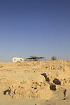 Israel, Arava, remains of Israelite fortresses at Ein Hatzeva, site of biblical Tamar