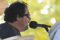 Music at Robbie and Paula's Oktoberfest Celebration in Branford 10 October 2009