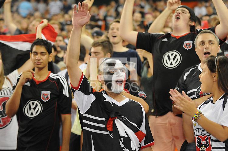 D.C. United fans. File photo RFK stadium 2011 season.