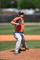 Houston Astros pitcher Albert Minnis (62) during a minor league spring training game against the Atlanta Braves on March 29, 2015 at the Osceola County Stadium Complex in Kissimmee, Florida.  (Mike Janes/Four Seam Images)