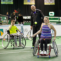 Rotterdam, The Netherlands, Februari 8, 2016,  ABNAMROWTT, Sports Plaza, Marc Kalkman<br /> Photo: Tennisimages/Henk Koster