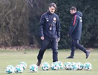Trainer Niko Kovac (Eintracht Frankfurt) - 06.03.2018: Eintracht Frankfurt Training, Commerzbank Arena