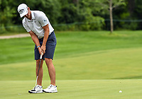 22nd July 2020; Blaine, Minnesota, USA;  Will Gordon sinks a put during the 3M Open Compass Challenge at TPC Twin Cities in Blaine, Minnesota