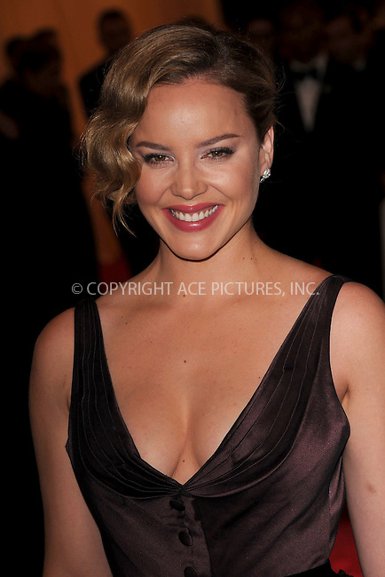 """WWW.ACEPIXS.COM . . . . . .May 7, 2012...New York City.....Abbie Cornish attending the """"Schiaparelli and Prada: Impossible Conversations"""" Costume Institute Gala at The Metropolitan Museum of Art in New York City on May 7, 2012  in New York City ....Please byline: KRISTIN CALLAHAN - ACEPIXS.COM.. . . . . . ..Ace Pictures, Inc: ..tel: (212) 243 8787 or (646) 769 0430..e-mail: info@acepixs.com..web: http://www.acepixs.com ."""