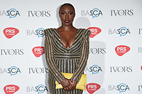 Laura Mvula<br /> at The Ivor Novello Awards 2017, Grosvenor House Hotel, London. <br /> <br /> <br /> ©Ash Knotek  D3267  18/05/2017