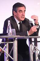 FranÁois Fillon - ConfÈrence de presse CFDT 'Parlons travail' ‡ Paris, le 16/03/2017. # CONFERENCE DE PRESSE CFDT 'PARLONS TRAVAIL'