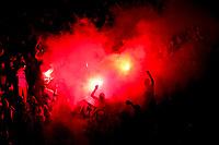 supporters ultras du PSG - Ambiance - fumigenes<br /> Parigi 08-05-2018 Stade de France <br /> Calcio Finale Coppa di Francia <br /> Les Herbiers - Paris Saint Germain <br /> Foto Panoramic/insidefoto