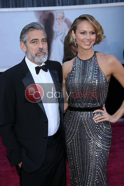 George Clooney, Stacy Keibler<br />