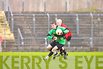 Mercy Mounthawk Football team who defeated St Michaels Listowel by 1-9 to -9pts in the Colaisti Na Mumham 2008/09 Corn an Runai Final in Austin Stack Park, Tralee on Wednesday