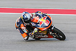 Jack Miller (8) in action during the Red Bull Grand Prix of the Americas practice sessions at Circuit of the Americas racetrack in Austin,Texas.