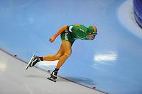 SCHAATSEN: HEERENVEEN: 18-10-2013, IJsstadion Thialf, Trainingswedstrijd, Jorrit Bergsma, ©foto Martin de Jong