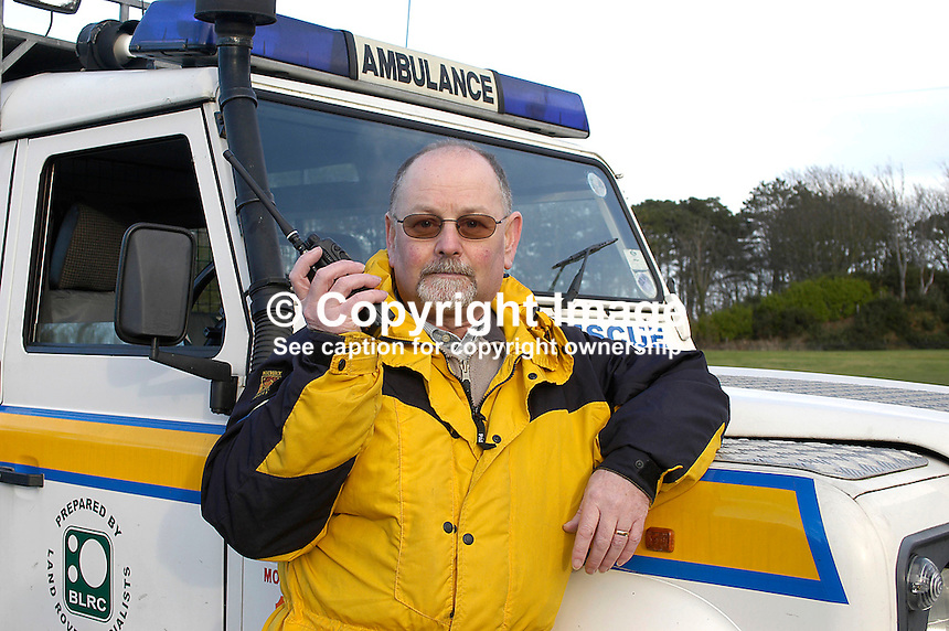 Ed Kilgore, Mournes Mountain Rescue, Newcastle, Co Down, N Ireland. Ref: 200311303305...Copyright Image from Victor Patterson, 54 Dorchester Park, Belfast, UK, BT9 6RJ..Tel: +44 28 9066 1296.Mob: +44 7802 353836.Voicemail +44 20 8816 7153.Skype: victorpattersonbelfast.Email: victorpatterson@mac.com.Email: victorpatterson@ireland.com (back-up)..IMPORTANT: If you wish to use this image or any other of my images please go to www.victorpatterson.com and click on the Terms & Conditions. Then contact me by email or phone with the reference number(s) of the image(s) concerned.