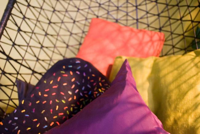 Pillows, Habitat Shop, Paris, France, Europe