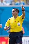 Marco Rodriguez (Referee), JUNE 24, 2014 - Football / Soccer : FIFA World Cup Brazil 2014 Group D match between Italy 0-1 Uruguay at Estadio das Dunas in Natal, Brazil. (Photo by Maurizio Borsari/AFLO)