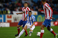 5.05.2012 SPAIN -  La Liga matchday 37th  match played between Atletico de Madrid vs Malaga (2-1) at Vicente Calderon stadium. The picture show Santiago Cazorla Gonzalez (Spanish midfielder of Malaga)
