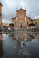 Chiesa dell' Immacolata nel quartiere storico di San Lorenzo. .Church of the Immaculate in the historic district of San Lorenzo....