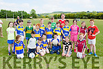 Cordal kids who participated in the Penalty shoot out at the Cordal Jamboree festival on Sunday