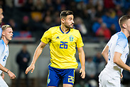 SOLNA, SWEDEN - OCTOBER 16: Sotirios Papagiannopoulos of Sweden during the UEFA International Friendly match between Sweden and Slovakia at Friends Arena on October 16, 2018 in Solna, Sweden. Photo by David Lidstrom/LP<br /> ***BETALBILD***